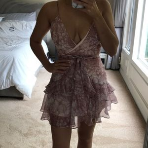 Light pink party dress
